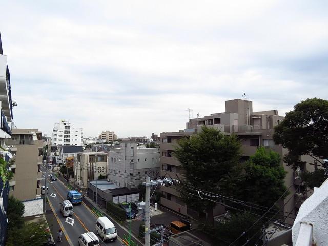 マコトパレス 東側バルコニー眺望