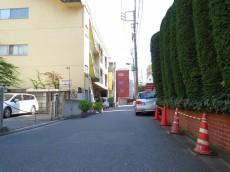 ライオンズマンション神楽坂第3 前面道路