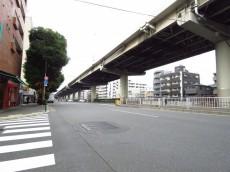 ライオンズマンション飯田橋 目白通り