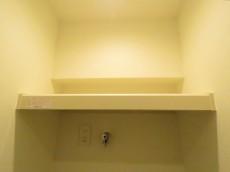 秀和第二神宮レジデンス 洗濯機置場上の棚