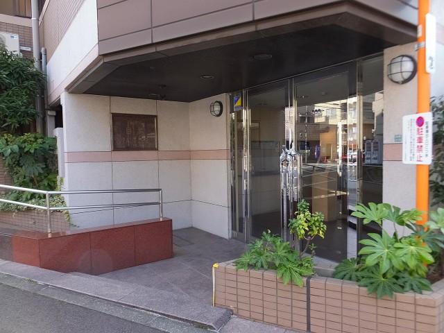 コスモ目黒パルティエ エントランス