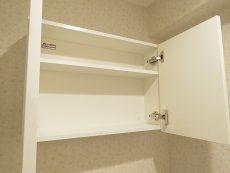 ニューウェルハイツ第1自由ヶ丘 トイレ吊戸棚