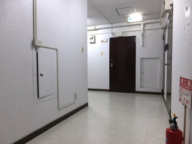 シャトレー駒沢 共用廊下