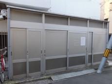 シャトレー駒沢 ゴミ置き場
