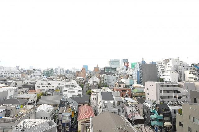 オープンレジデンシア南青山 5.0帖洋室眺望