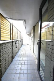 レジェンド南青山ガーデン 洋室のバルコニー