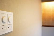 イトーピア東広尾マンション 約8.7帖洋室の照明スイッチ