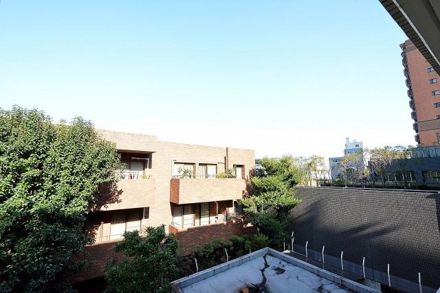 イトーピア東広尾マンション 北側バルコニー眺望