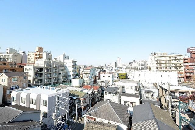 フォルスコート目黒大橋 バルコニー眺望