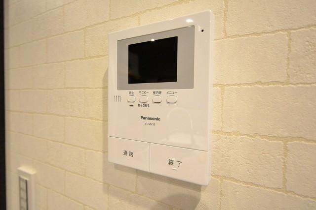 クレール島津山 TVモニター付きインターホン