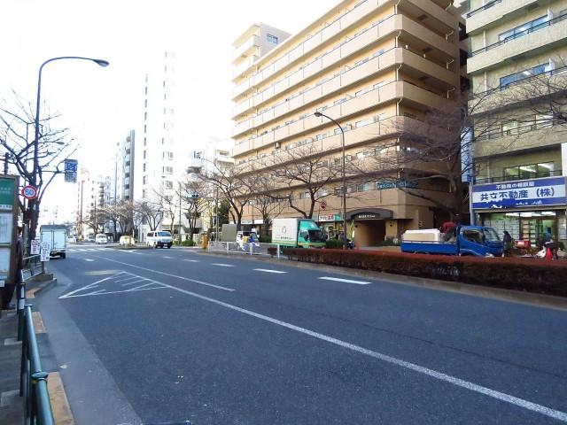 朝日広尾マンション 前面道路