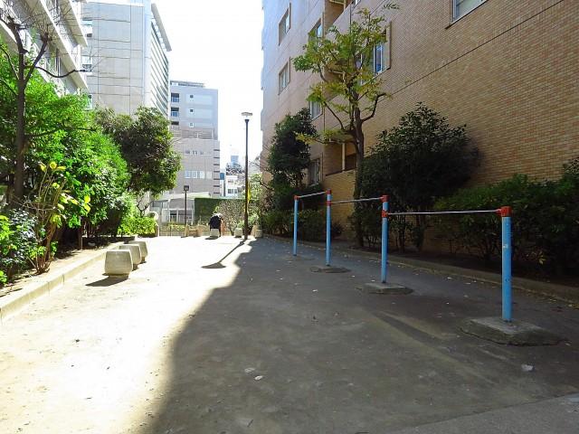 朝日広尾マンション 公園