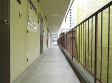 東武ハイライン高輪 共用廊下