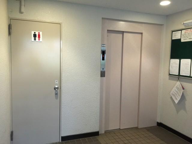 五反田南ハイツ エレベーター