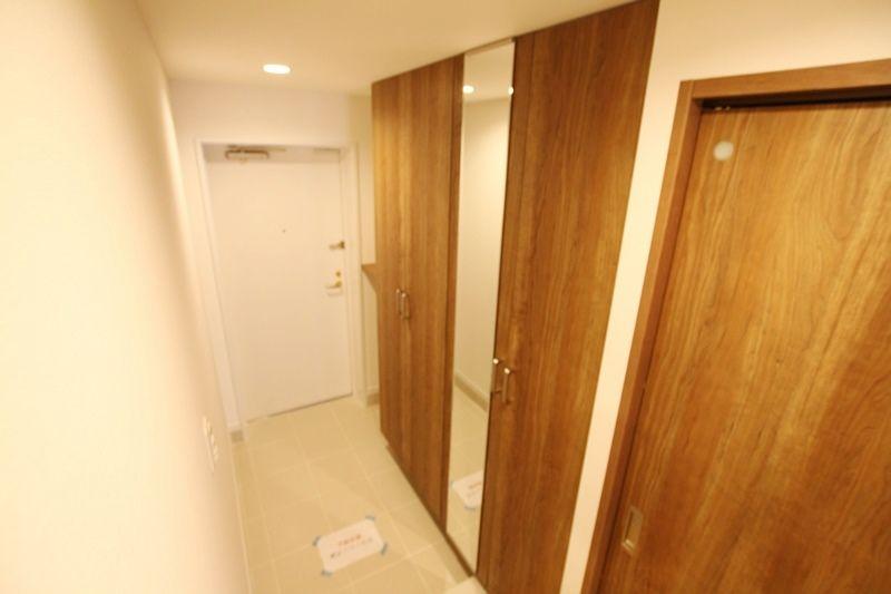 クレストフォルム駒沢公園101 玄関