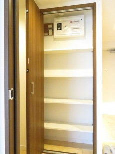 上野毛南パークホームズ 廊下収納