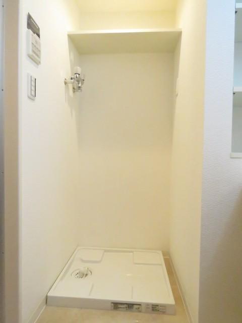 上野毛南パークホームズ 洗濯機置場