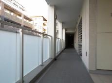パークハウス目黒学芸大学プレイス 共用廊下