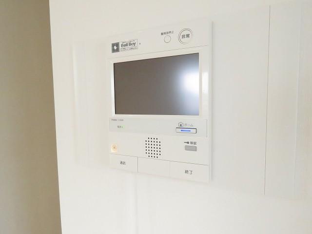上野毛南パークホームズ TVモニター付きインターホン