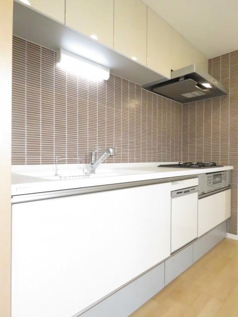 上野毛南パークホームズ キッチン