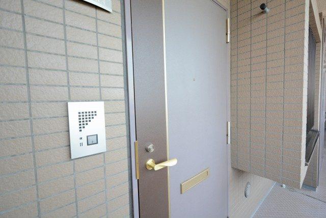 コスモ目黒パルティエ 玄関