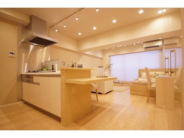 ニュー渋谷コーポラス608 リビングダイニングキッチン