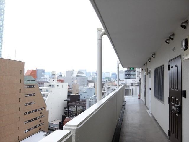 五反田リーラハイタウン_共用廊下