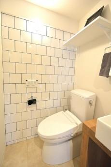 赤坂キャステール トイレ