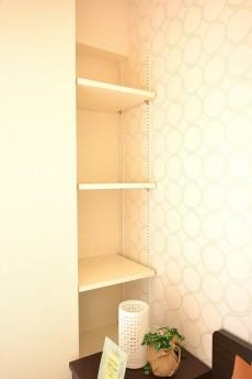 南青山ロータリーマンション 6.1帖洋室の棚