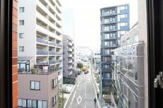 赤坂キャステール キッチンからの眺望