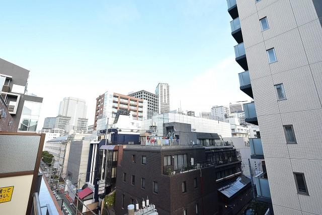 赤坂キャステール バルコニー眺望