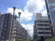 ラインコーポ箱崎 (3) 湊橋の街灯はとても趣きがありました~