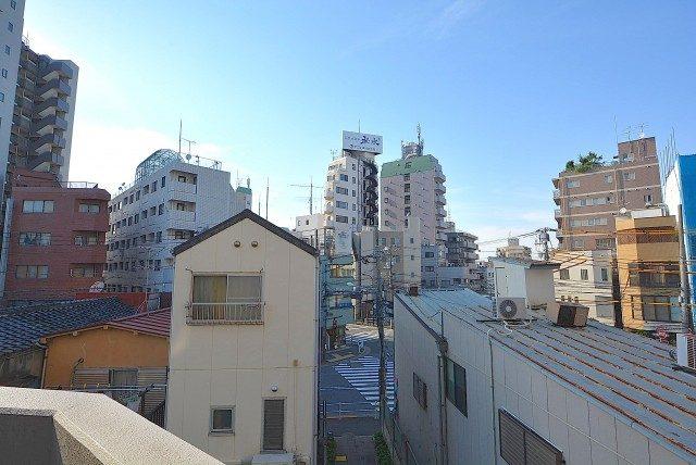 日神デュオステージ新宿若松町 バルコニー