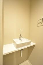 芝公園アビタシオン トイレ手洗いカウンター