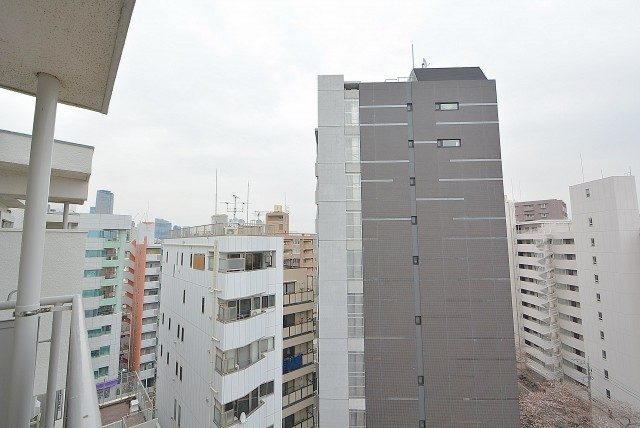 大橋団地 バルコニー