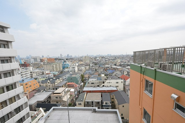 三軒茶屋ターミナルビル 屋上からの眺め