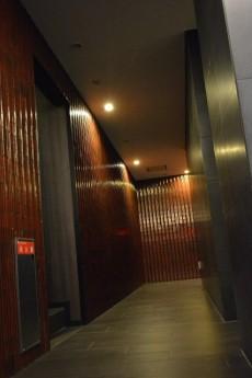 ウィルローズ築地 共用廊下