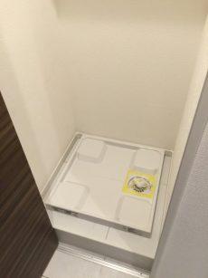桜丘フラット 洗濯機置場