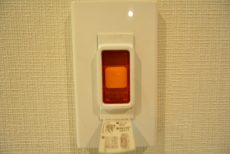藤和護国寺コープ312号室 非常ボタン