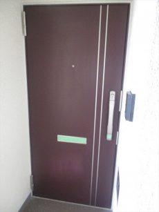 1山王スカイマンション玄関