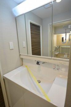 カーサ池尻 1203号室 三面鏡