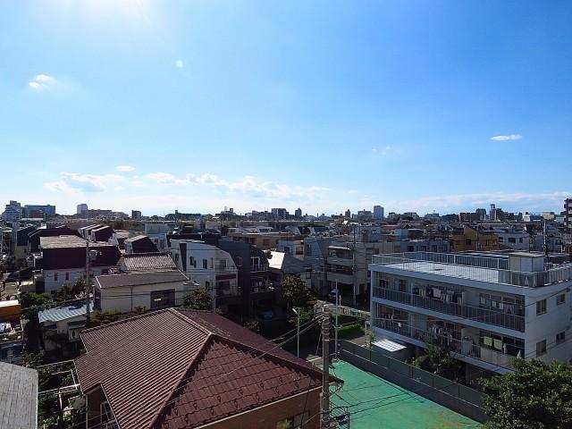 玉川コーポラス 眺望