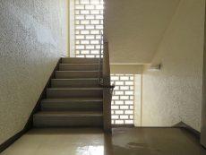 玉川コーポラス 共用階段