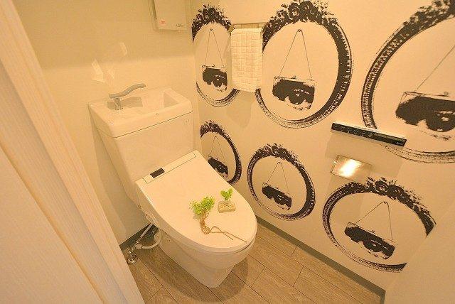 フラット田園調布806号室 トイレ