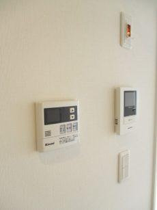 シャンボール小石川 浴室乾燥機スイッチ&TVモニター付きインターフォン