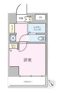 ライオンズマンション三軒茶屋第6 間取り図