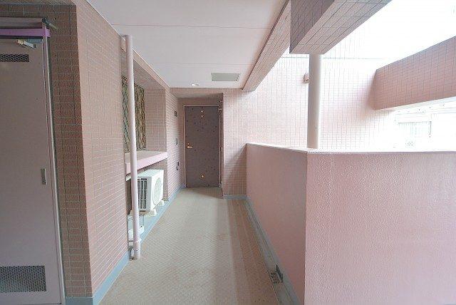 ボヌール荻窪 外廊下