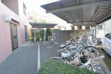 ボヌール荻窪 自転車置場