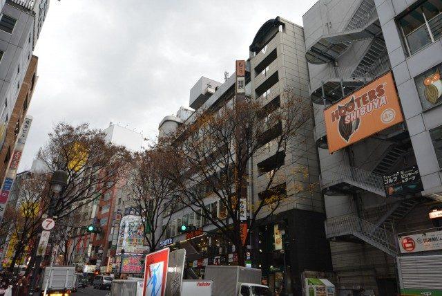 渋谷の街並