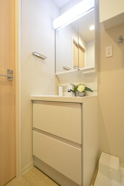 築地永谷コーポラス 洗面室